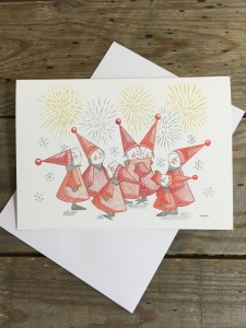 Fireworks - greeting card - Alpha Angle